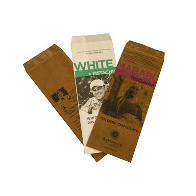 Custom Printed Dry Wax Bags