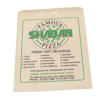 Custom Printed Pizza Bag