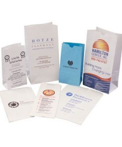 Custom Printed Pharmacy and Medical Bags