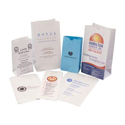Custom Printed Pharmacy and Medical Bags