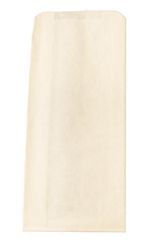 White Paper Merchandise Bag