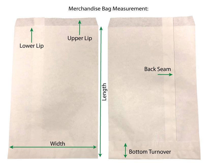 Merchandise Bag Measurements